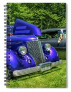 Mild Customs 1936 Ford And 1953 Chevy Spiral Notebook