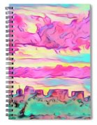Mile High Sunset Spiral Notebook