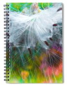 Milking The Weed Spiral Notebook