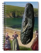 Milkmaids At The Monolith Spiral Notebook