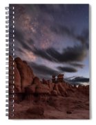 Milky Way Rises Over Goblins Spiral Notebook