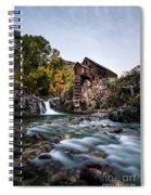 Mill On Crystal River Spiral Notebook