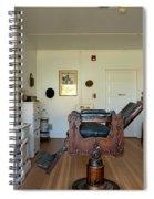 Milner Barbershop - Allensworth State Park Spiral Notebook