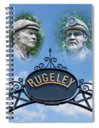 Miners Of Rugeley Spiral Notebook