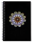 Minerva Glass Spiral Notebook
