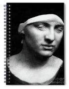 Minerva Without Helmet, 1896 Spiral Notebook
