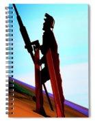 Mining The Sky Spiral Notebook