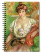 Misia Sert With A Lap Dog Spiral Notebook