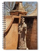 Mission San Xavier Del Bac - Scenes From The Yard - 2 Spiral Notebook