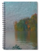 Mississippi Rivers Edge Spiral Notebook