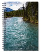Mistaya River Blues Spiral Notebook