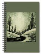 Misty Dawn Number Three Spiral Notebook