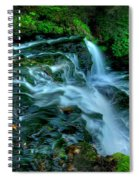 Misty Falls - 2976 Spiral Notebook