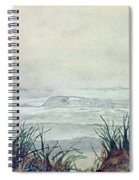 Misty Morning On Lawrencetown Beach Spiral Notebook
