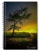 Misty Sunset Spiral Notebook