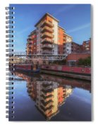 Modern Canal Living Spiral Notebook