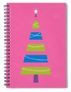 Modern Glam Christmas Tree 2- Art By Linda Woods Spiral Notebook