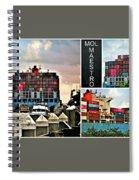 Mol Maestro Collage Spiral Notebook