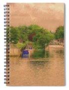 Molesey Lock And Weir Spiral Notebook