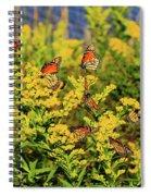 Monarch Gathering 1 Spiral Notebook