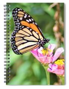 Monarch's Stance... Spiral Notebook