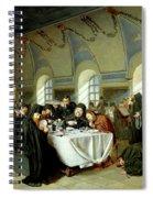 Monastic Refectory Spiral Notebook