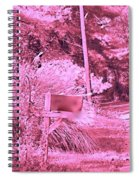 Monochromerose Countyroad Spiral Notebook