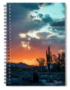 Monsoon Passing Spiral Notebook