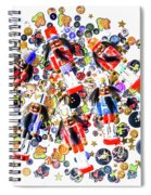 Monster Toy Soldiers Spiral Notebook
