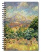 Mont Sainte-victoire, 1889 Spiral Notebook