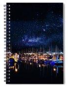 Monterey Bay At Night Spiral Notebook