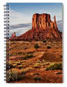 Monumental Butte Spiral Notebook