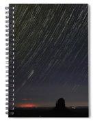 Monumental Star Trails Spiral Notebook