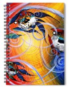 Moon Dance 4 Spiral Notebook