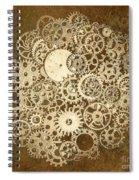 Moon Mechanics Spiral Notebook