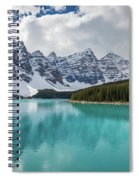 Moraine Lake Range Spiral Notebook