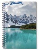 Moraine Lake Range Spiral Notebook