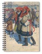 Moravian Slovaks In The Winter Spiral Notebook