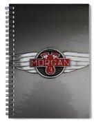 Morgan 3 Hood Ornament Spiral Notebook