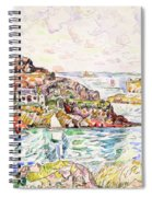 Morlaix, Entrance Of The River - Digital Remastered Edition Spiral Notebook
