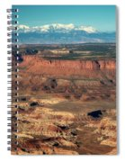 Morning Over Canyonlands Spiral Notebook