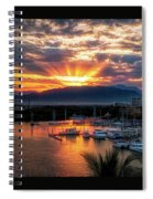 Morning Rays Spiral Notebook