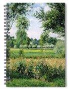 Morning Sunlight Effect, Eragny - Digital Remastered Edition Spiral Notebook