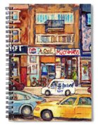 Morrie Heft Elizabeth Hager Le Chef Jj Joubert On Queen Mary Rd Stores C Spandau Montreal Spiral Notebook