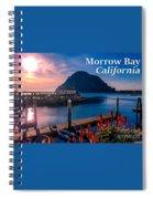Morrow Bay California Spiral Notebook