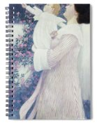 Mother And Child By Wilhelm List Spiral Notebook
