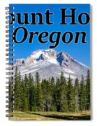 Mount Hood Oregon In Fall Spiral Notebook