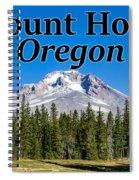 Mount Hood Oregon In Fall Spiral Notebook