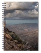 Mount Laguna At Dusk Spiral Notebook