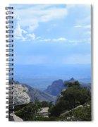 Mount Lemmon View Spiral Notebook